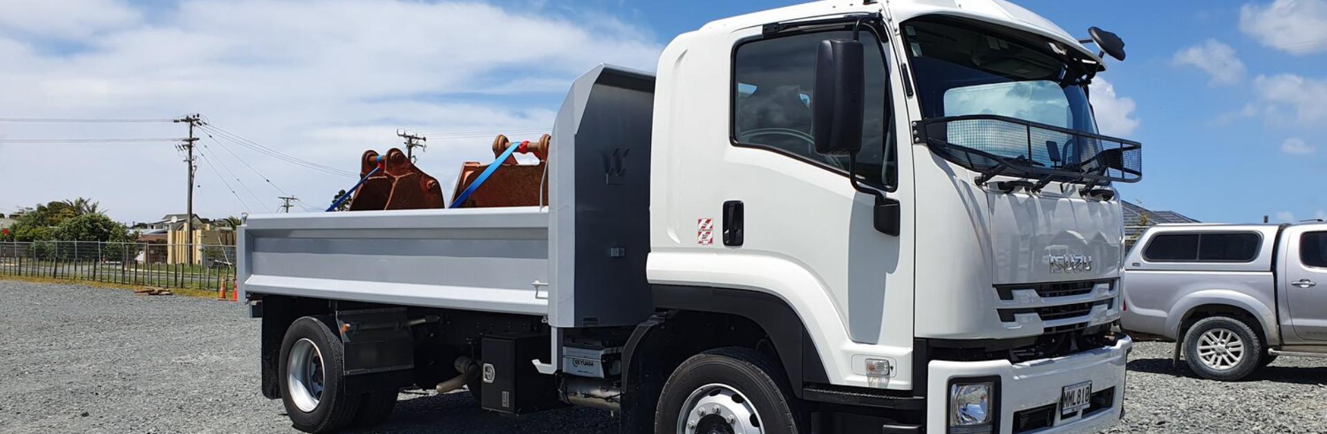 Tipper truck hire Hickey Contractors