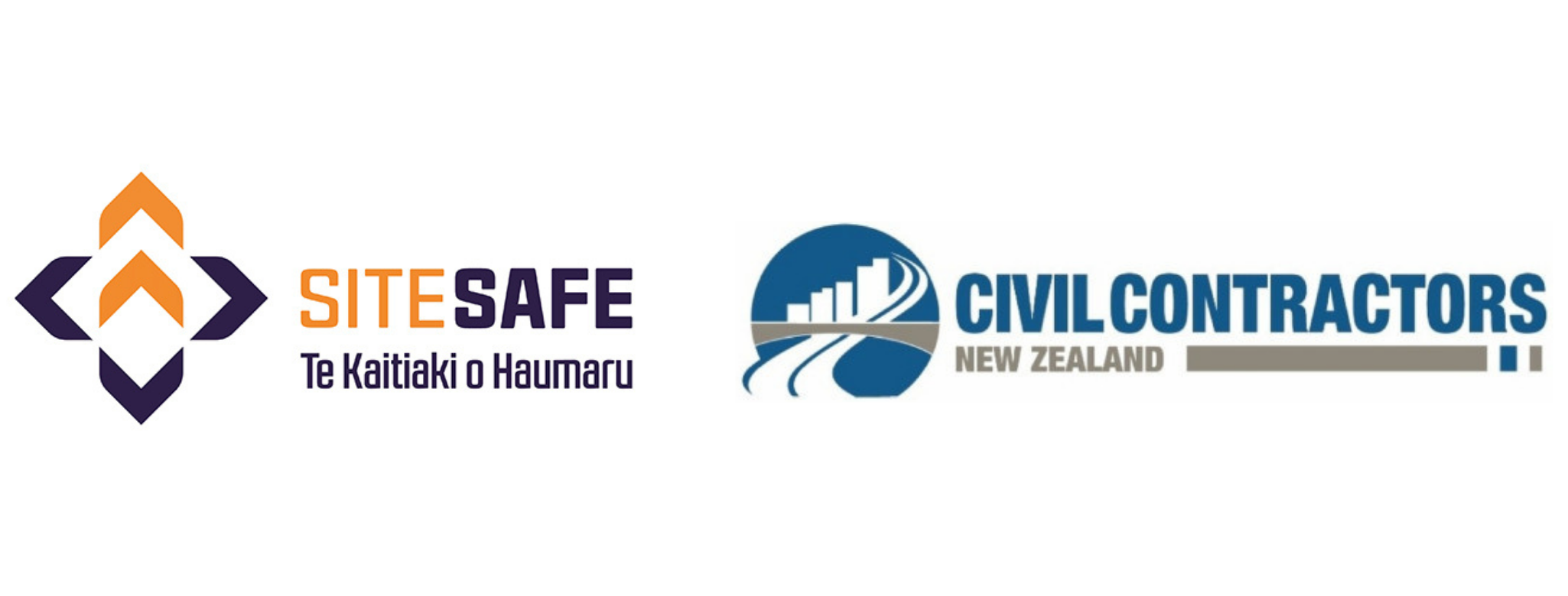 Site Safe and Civil Contractors logos