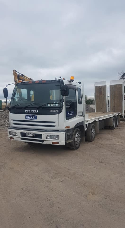 Truck Hire Services Hickey Contractors Rotorua and Bay of Plenty