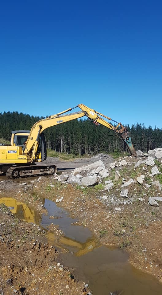 Civil and Roading Contractor Services Hickey Contracting Rotorua and Bay of Plenty